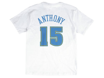 Denver Nuggets Carmelo Anthony Mitchell & Ness NBA Men's Hardwood Classic Player T-Shirt