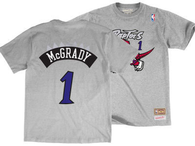 Toronto Raptors Tracy McGrady  Mitchell & Ness NBA Men's Hardwood Classic Player T-Shirt