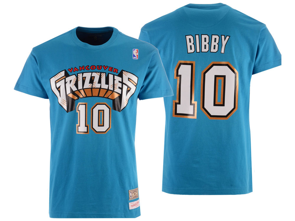 ca0fecef5 Vancouver Grizzlies Mike Bibby Mitchell   Ness NBA Men s Hardwood Classic  Player T-Shirt