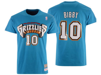 Vancouver Grizzlies Mike Bibby  Mitchell & Ness NBA Men's Hardwood Classic Player T-Shirt
