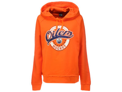 Edmonton Oilers New Era NHL Women's Hockey Script Hoodie