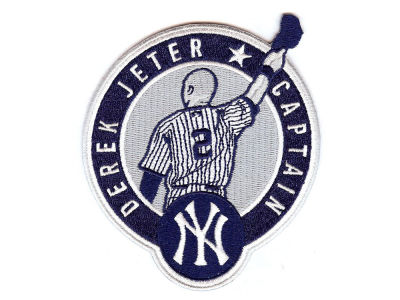 New York Yankees Derek Jeter Derek Jeter Retirement Patch