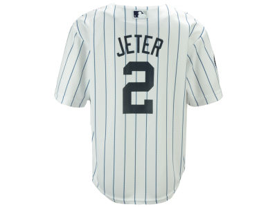 New York Yankees Derek Jeter Majestic MLB Toddler Commemorative Patch Cool Base Jersey