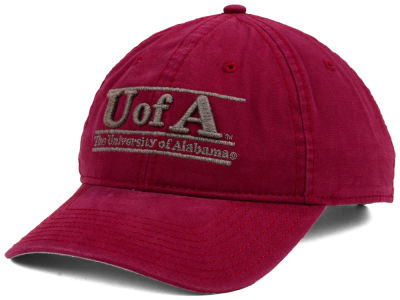 Alabama Crimson Tide The Game NCAA Heather Bar Cap