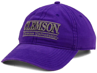 Clemson Tigers The Game NCAA Heather Bar Cap