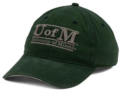 Miami Hurricanes The Game NCAA Heather Bar Cap