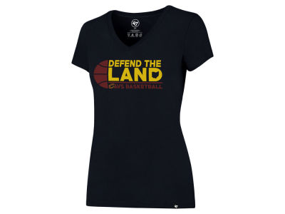 Cleveland Cavaliers '47 NBA Women's Defend Splitter T-Shirt