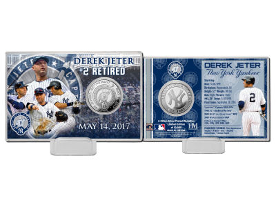 New York Yankees Derek Jeter Coin Card-EVENT