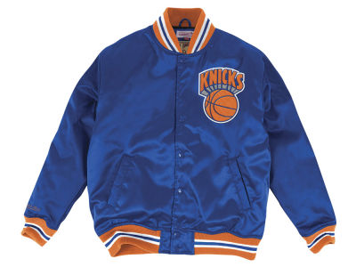 New York Knicks Mitchell & Ness NBA Men's Satin Jacket