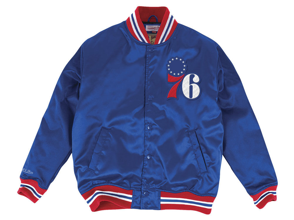 Mitchell & NessNBA PHILADELPHIA 76ERS JACKET - Training jacket - red/black 0ImW0