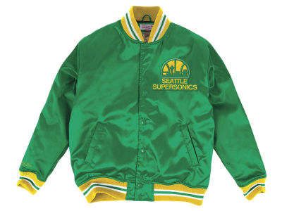 Seattle SuperSonics Mitchell & Ness NBA Men's Satin Jacket