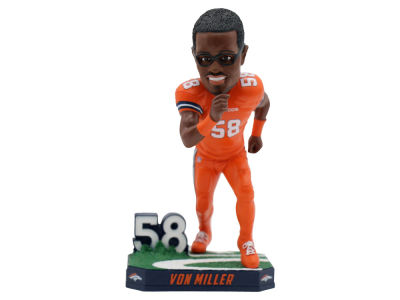 Denver Broncos Von Miller Color Rush Bobblehead