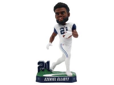 Dallas Cowboys Ezekiel Elliott Color Rush Bobblehead