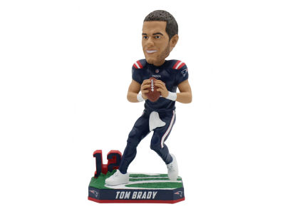 New England Patriots Tom Brady Color Rush Bobblehead