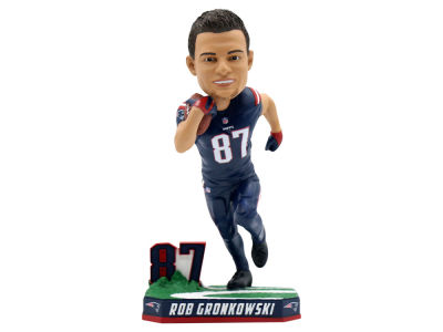 New England Patriots Rob Gronkowski Color Rush Bobblehead