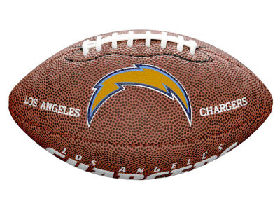 Los Angeles Chargers Wilson Mini Soft Touch Football