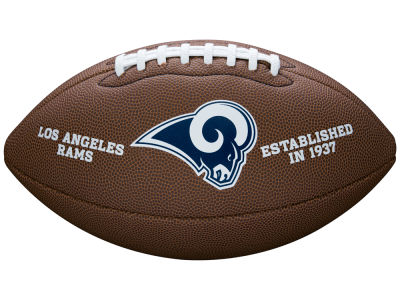 Los Angeles Rams NFL Composite Football