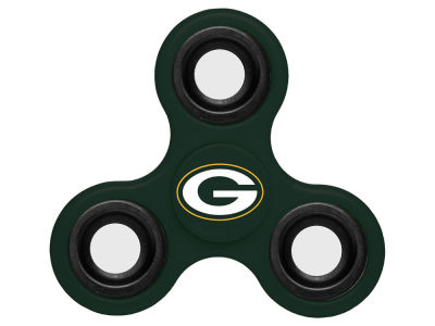 Green Bay Packers Forever Collectibles Three Way Fidget Spinnerz