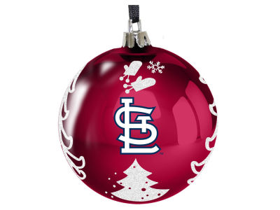 "St. Louis Cardinals 3"" Plastic Christmas Tree Ornament"
