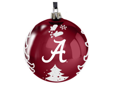 "Alabama Crimson Tide 3"" Plastic Christmas Tree Ornament"