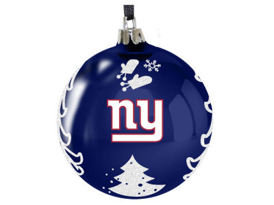 "New York Giants 3"" Plastic Christmas Tree Ornament"