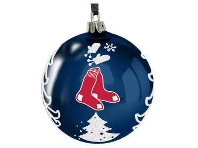 "Boston Red Sox 3"" Plastic Christmas Tree Ornament"