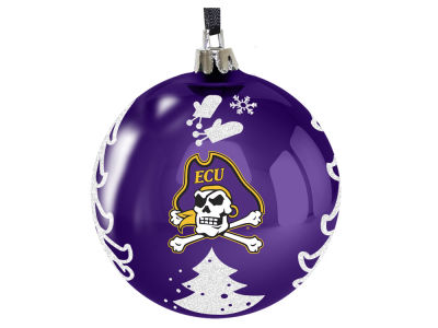 "East Carolina Pirates 3"" Plastic Christmas Tree Ornament"