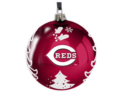 "Cincinnati Reds 3"" Plastic Christmas Tree Ornament"