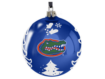 "Florida Gators 3"" Plastic Christmas Tree Ornament"
