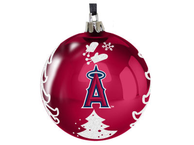 "Los Angeles Angels 3"" Plastic Christmas Tree Ornament"