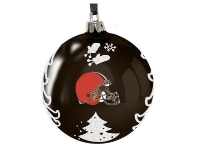"Cleveland Browns 3"" Plastic Christmas Tree Ornament"