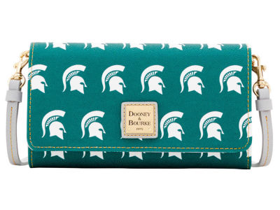 Michigan State Spartans Dooney & Bourke Daphne Crossbody Wallet