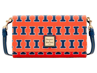 Illinois Fighting Illini Dooney & Bourke Daphne Crossbody Wallet