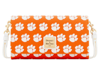 Clemson Tigers Dooney & Bourke Daphne Crossbody Wallet