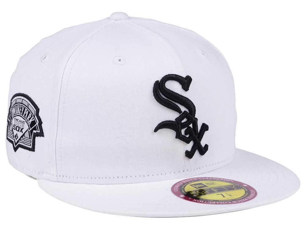 1ebf7a21bd7 Chicago White Sox New Era The Ultimate Patch Collection Stadium 59FIFTY Cap
