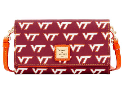 Virginia Tech Hokies Dooney & Bourke Daphne Crossbody Wallet