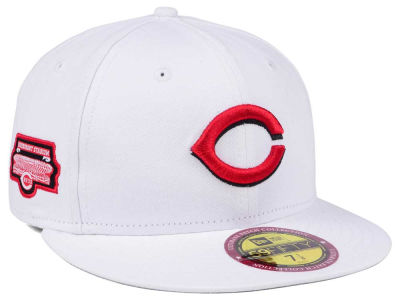 Cincinnati Reds New Era The Ultimate Patch Collection Stadium 59FIFTY Cap