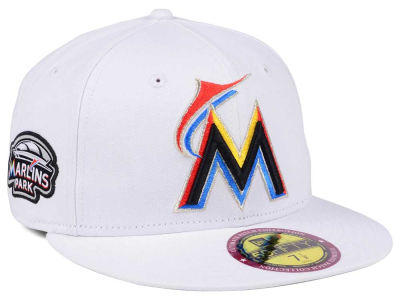 Miami Marlins New Era The Ultimate Patch Collection Stadium 59FIFTY Cap