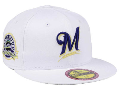 Milwaukee Brewers New Era The Ultimate Patch Collection Stadium 59FIFTY Cap