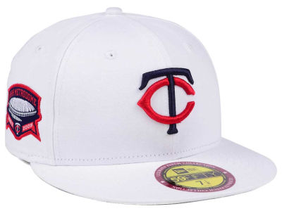 Minnesota Twins New Era The Ultimate Patch Collection Stadium 59FIFTY Cap