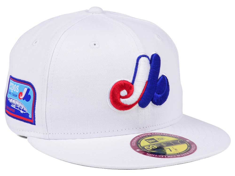 official photos cbab5 7d8df Montreal Expos New Era The Ultimate Patch Collection Stadium 59FIFTY Cap    lids.com