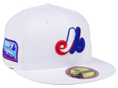Montreal Expos New Era The Ultimate Patch Collection Stadium 59FIFTY Cap