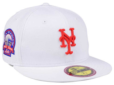 New York Mets New Era The Ultimate Patch Collection Stadium 59FIFTY Cap