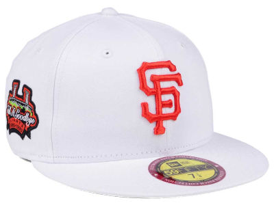 San Francisco Giants New Era The Ultimate Patch Collection Stadium 59FIFTY Cap