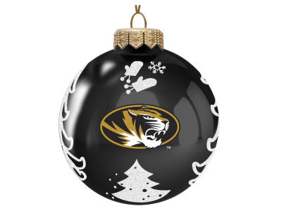 "Missouri Tigers Memory Company 3"" Glass Christmas Tree Ornament"