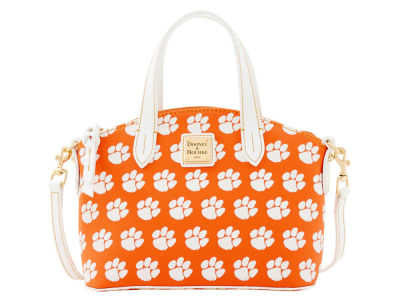 Clemson Tigers Dooney & Bourke Ruby Mini Satchel Crossbody