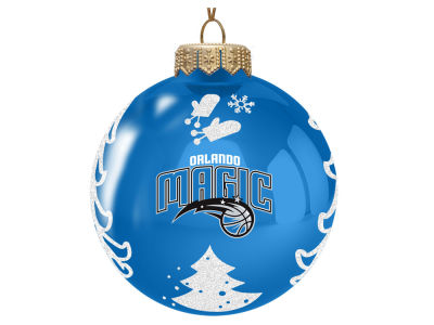 "Orlando Magic Memory Company 3"" Glass Christmas Tree Ornament"