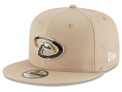 Arizona Diamondbacks New Era MLB All Color Metal Logo 9FIFTY Snapback Cap
