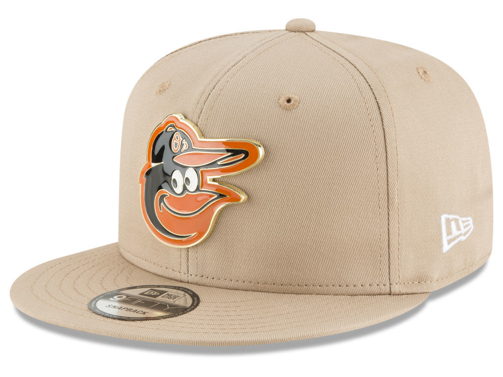 e9104b6063f top quality baltimore orioles new era mlb all color metal logo 9fifty  snapback cap 2d345 a7d37