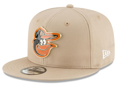 Baltimore Orioles New Era MLB All Color Metal Logo 9FIFTY Snapback Cap